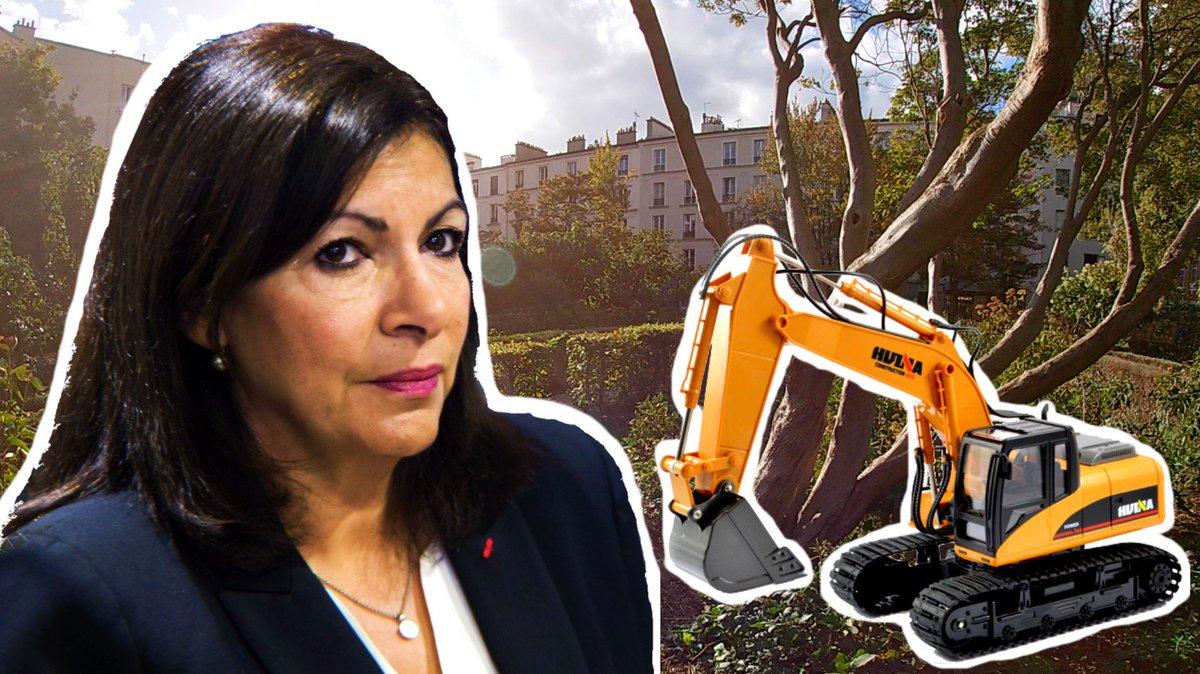 🚧🌺La Ville de Paris envisage de raser un jardin floral exceptionnel pour en faire... un terrain de foot ! 🥅 Le scandale environnemental et patrimonial qu'Anne Hidalgo aimerait faire oublier aux Parisiens...