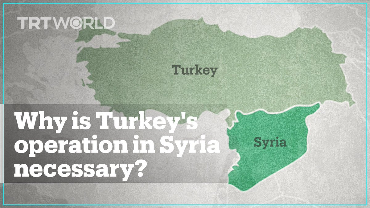 A must-watch 5 min. piece by TRT World about Operation Peace Spring.