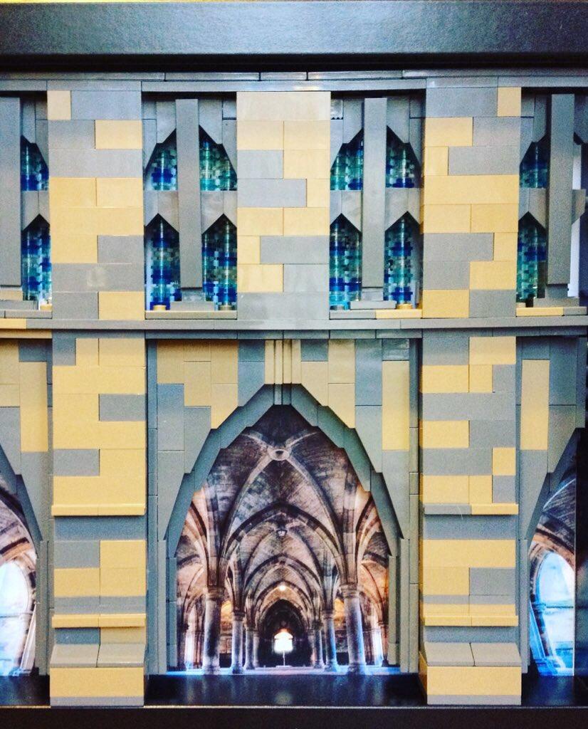Glasgow University. #lego #Glasgow
