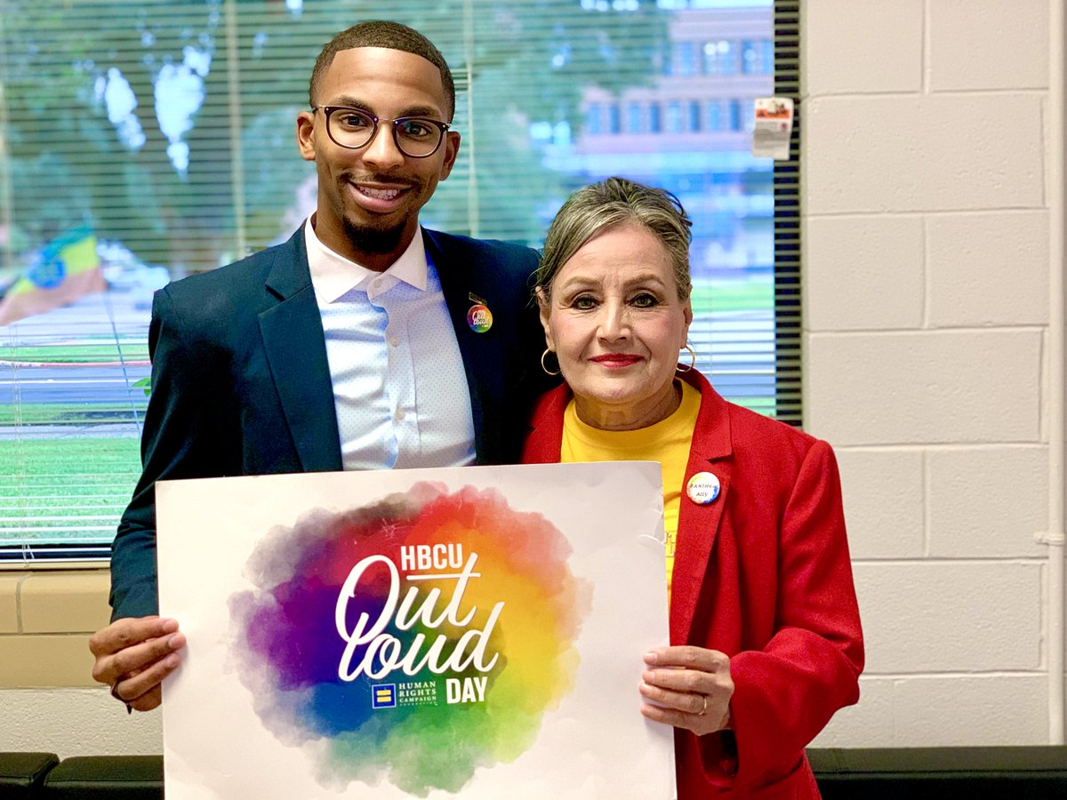 .@HRC's Rishard Butts (@_RishardMQL) was on the ground today for the grand opening of Prairie View A&M University's LGBTQ+ Resource Office. This office at @PVAMU will be the fifth desginated LGBTQ office or center at any HBCU in the U.S. #HBCUOutLoud hrc.org/blog/hrc-found…