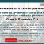 Image for the Tweet beginning: Participez au Forum pancanadien sur
