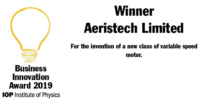 Congratulations to the team @aeristech, one of the four out of five #IOPBusiness Innovation Awards winners to have had Innovate UK funding. @UKRI_News