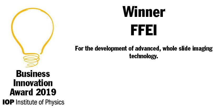 Congratulations to the team @FFEI_Ltd, one of the four out of five #IOPBusiness Innovation Awards winners to have had Innovate UK funding. @UKRI_News