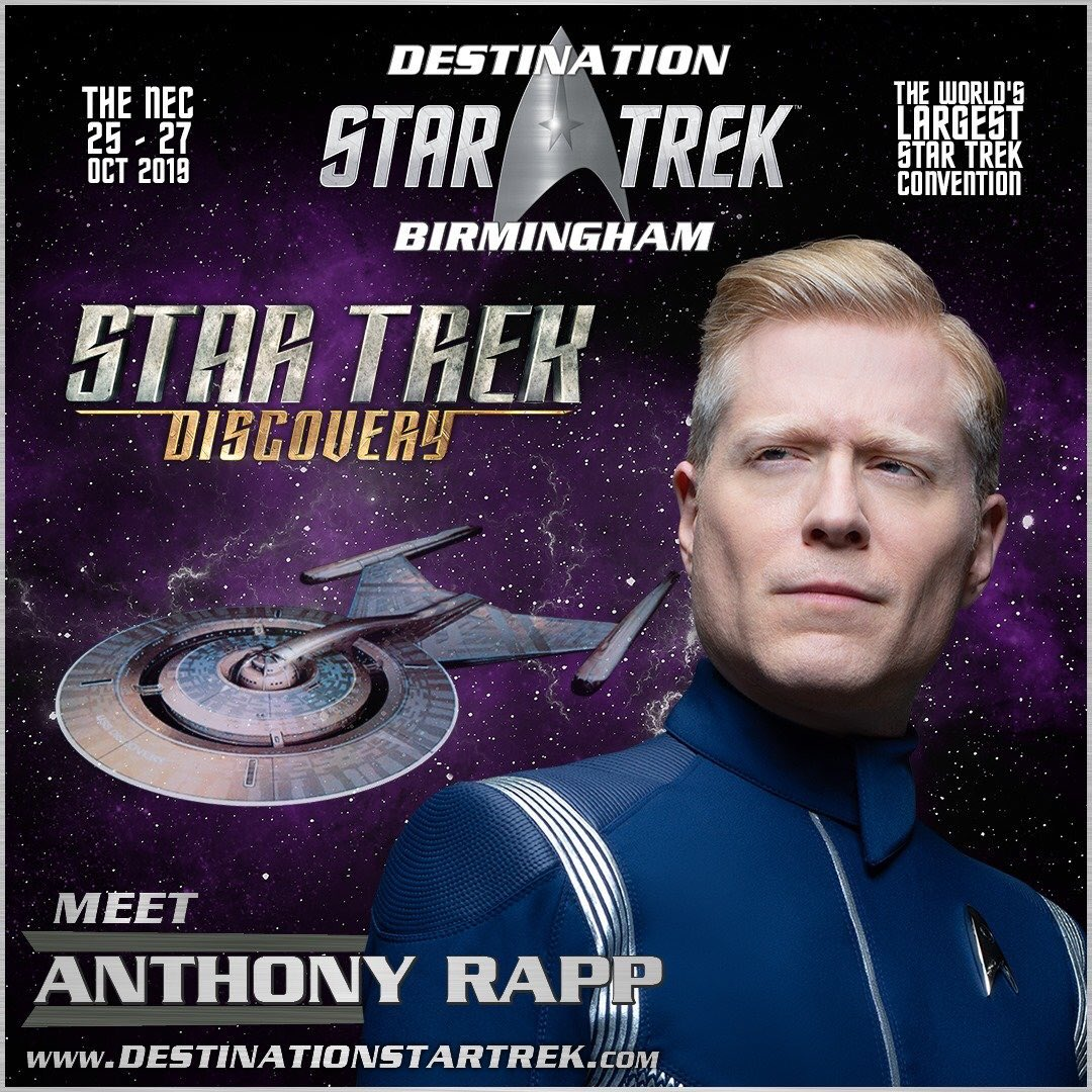 Just booked my photos with the incredible @albinokid and @wcruz73 at #DST 😊 It's my first ever photo with Wilson so I'm extremely excited. Look forward to seeing you Anthony again and wishing you happy birthday in person on Saturday. @StarTrek_DST