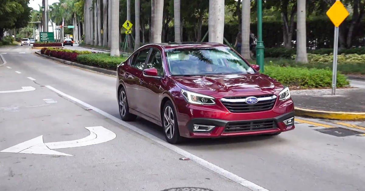 #Subaru Legacy despliega todas sus armas en este video de MotorTech