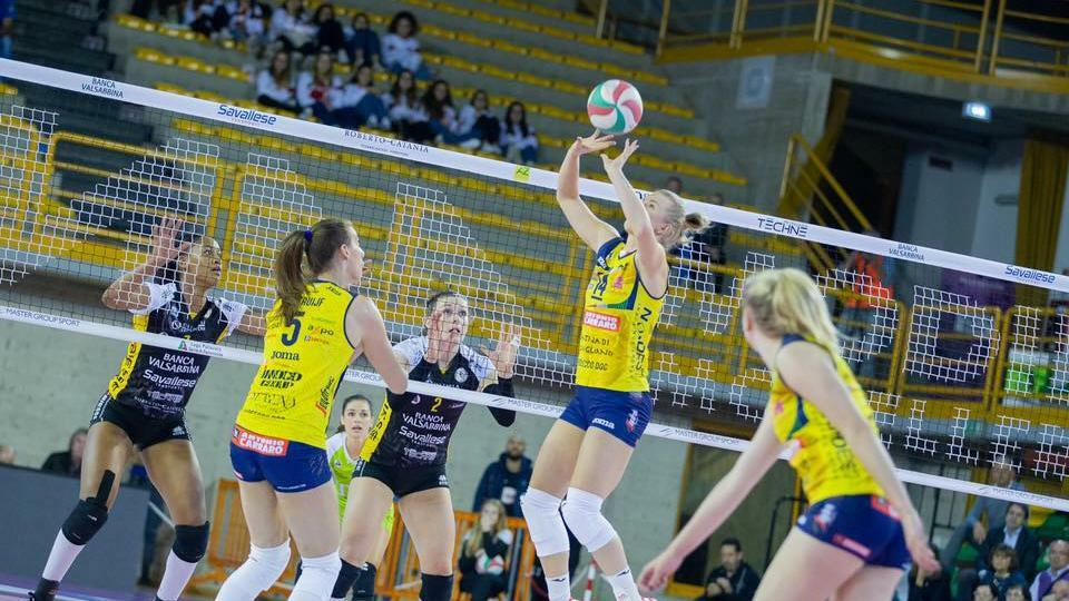 Volley, l'Imoco è già immarcabile: Brescia in gi...