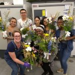 The #QuaveLab has been getting crafty with some beautiful floral arrangements for the @EmoryUniversity @FranceAtlanta Biodiversity Symposium! We're so excited to meet the fantastic lineup of scientists speaking on #biodiversity #humanhealth & #planetaryhealth!  #FranceAtlanta2019