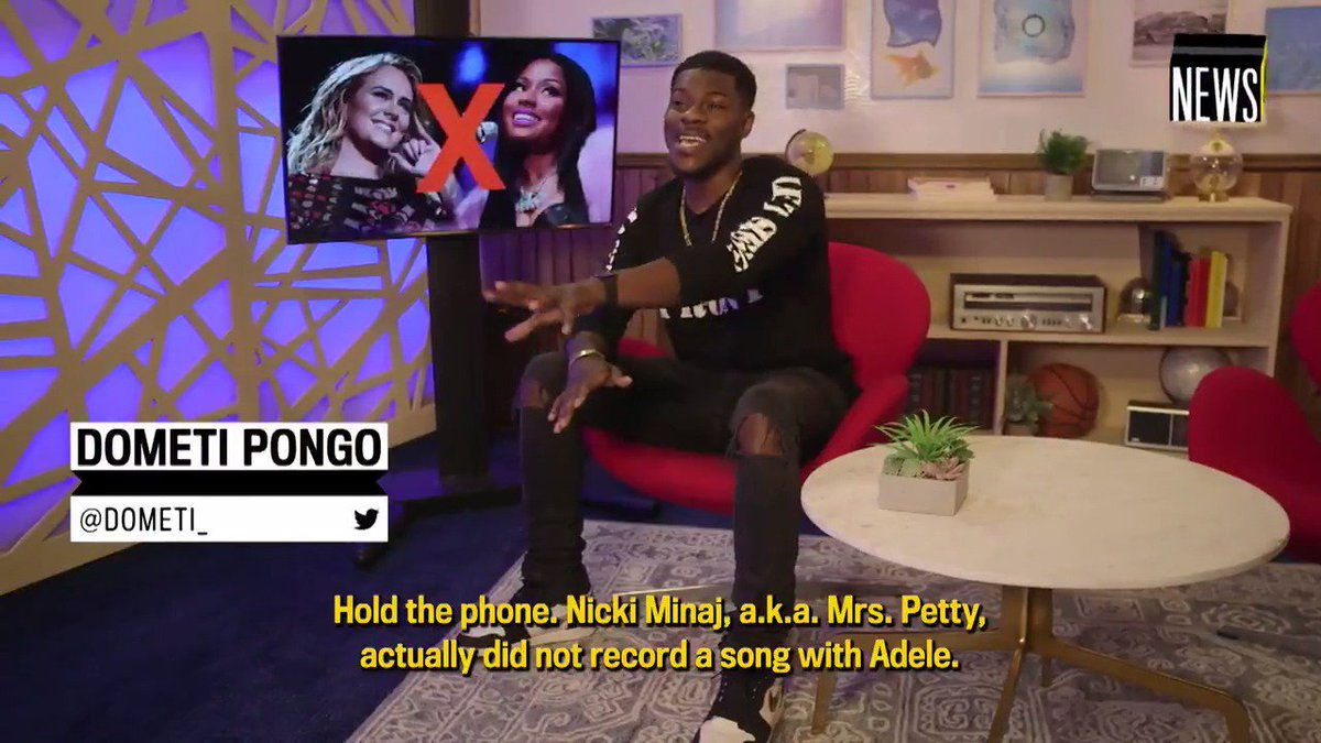 If you were psyched about the Nicki Minaj and Adele collaboration news that took the internet by storm this morning, don't get your hopes up too soon; apparently, it isn't happening. @Dometi_ has what you #NeedToKnow