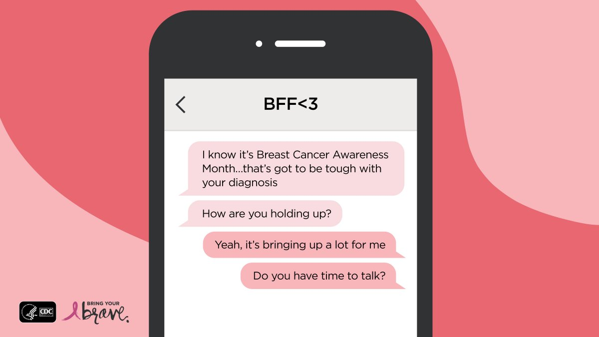 test Twitter Media - If you know someone affected by #BreastCancer, use #BreastCancerAwarenessMonth to check in. If you're not sure how to support them, read this: https://t.co/KEcAXfhmqV. #BCAM https://t.co/wbSye8TzRj
