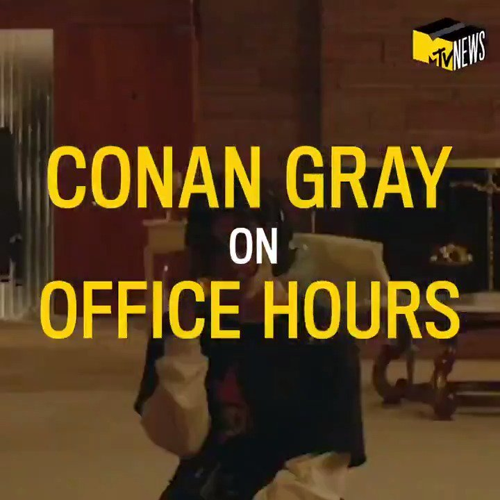 .@conangray is joining us for an intimate #OfficeHours performance TOMORROW morning on our Instagram Live. 👑 You don't want to miss it! ♟️ Watch at instagram.com/mtvnews