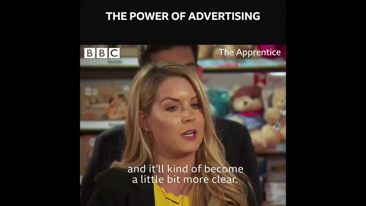 Yep, thanks Pamela. That makes everything completely clear. 😳 #TheApprentice