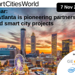 The @CityofAtlanta is making meaningful contributions to city efficiency, economic development, sustainability and citizen welfare - Join us with @GeorgiaPower and @SmartCitiesW to learn how: https://t.co/cDTen0UbK9