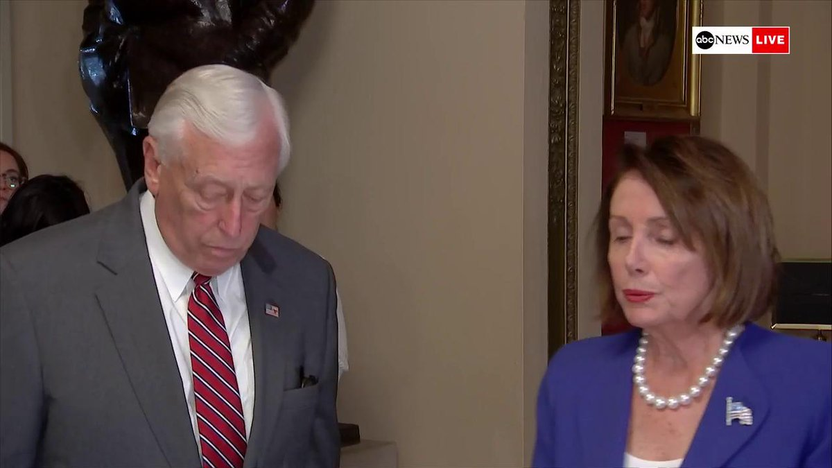 PELOSI on Trump: I think now we have to pray for his health. Because this was a very serious meltdown on the part of the president.