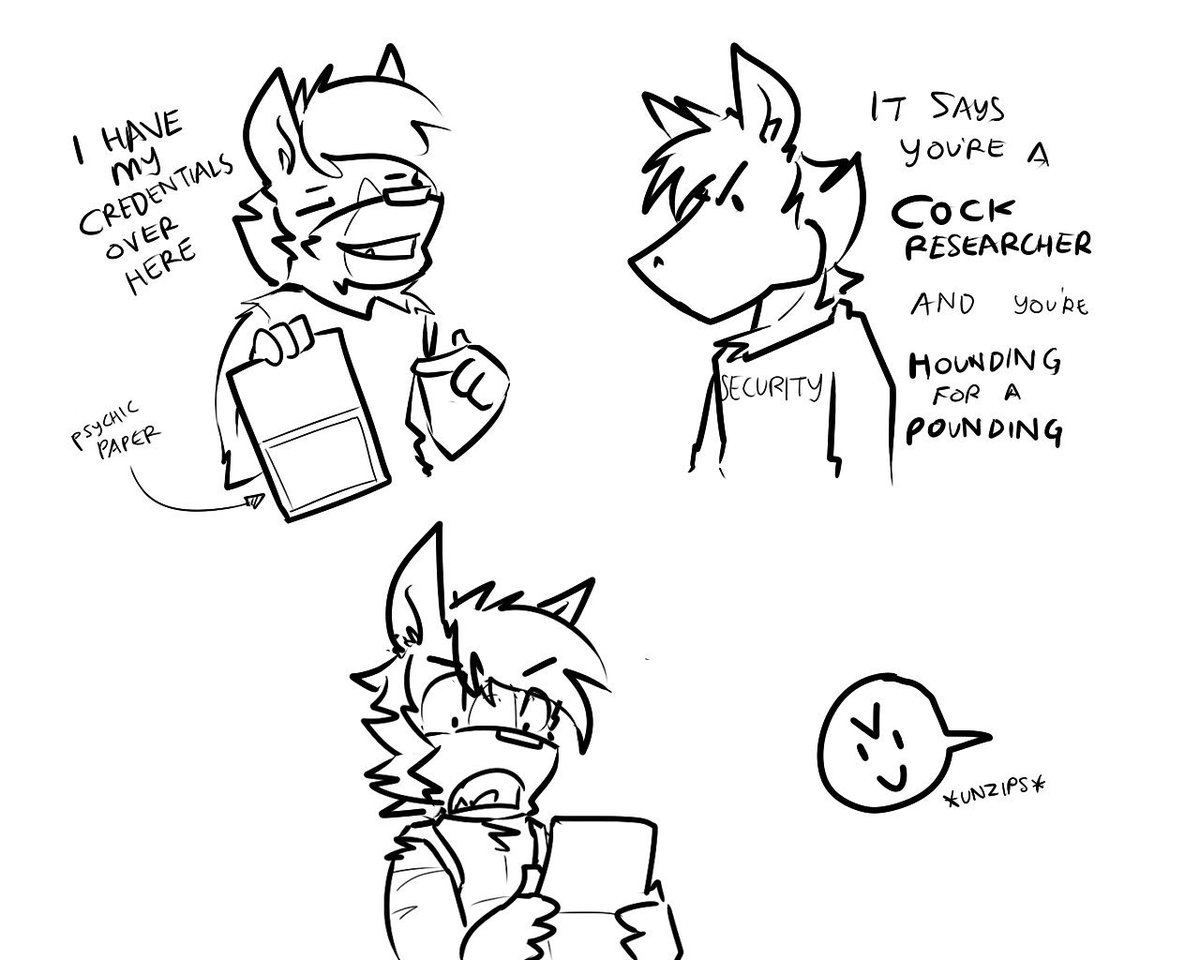NEVER use your psychic papers on furries.