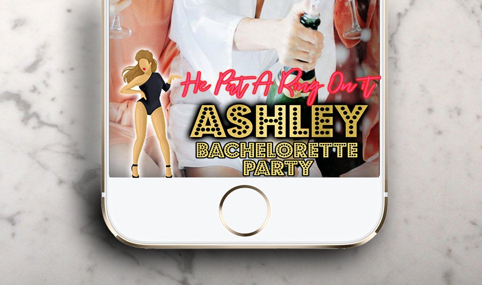 Excited to share the latest addition to my #etsy shop: Beyonce Bachelorette Party Snapchat Geofilter ! Party Filter Birthday Geofilter ! Put a ring on it !  #papergoods #beyonce #snapchatfilter #bacheloretteparty #snapchatgeofilter #beyoncesnapch