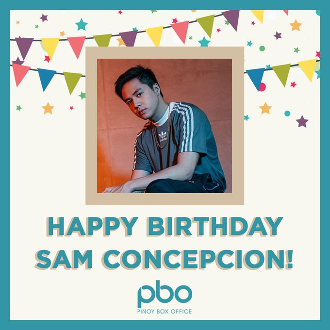 Happy Birthday Sam Concepcion!  Wishing you a spectacular birthday and a blessed year ahead!