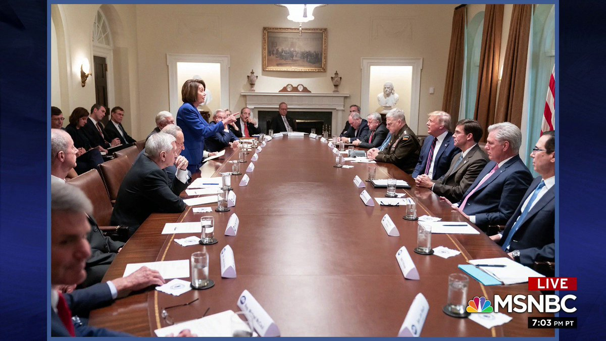Fifty years from now, schoolchildren studying American history will come upon this photograph, and they will instantly know who was in charge in that room - the adult standing and pointing at that pained face across the table. - @Lawrence
