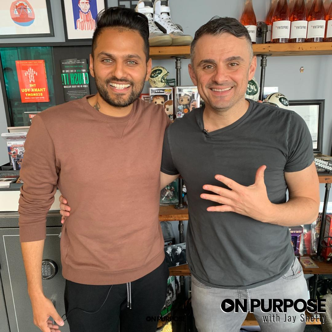 On this special episode of On Purpose, I got to interview my good friend @garyvee . Listen now!  iTunes:  https://apple.co/2IptapX   Spotify:  https://apple.co/2IptapX   SoundCloud:  https://apple.co/2IptapX