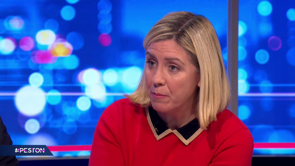 .@andreajenkyns says she will not vote for another version of Theresa Mays Brexit deal, saying she'll give the Prime Minister the space to negotiate a new deal. #Peston