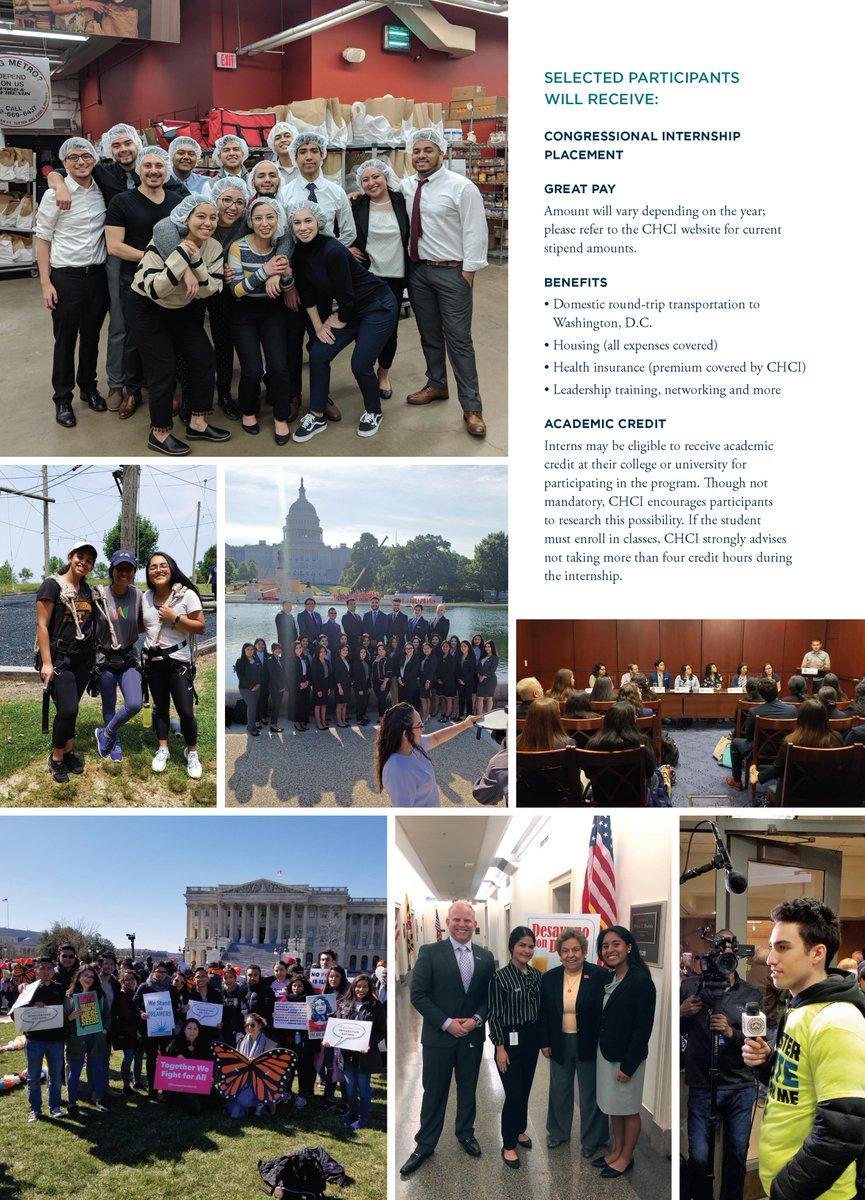 Spring 2020 Internships Washington Dc.Ppia Program On Twitter Chci Offers Paid Congressional
