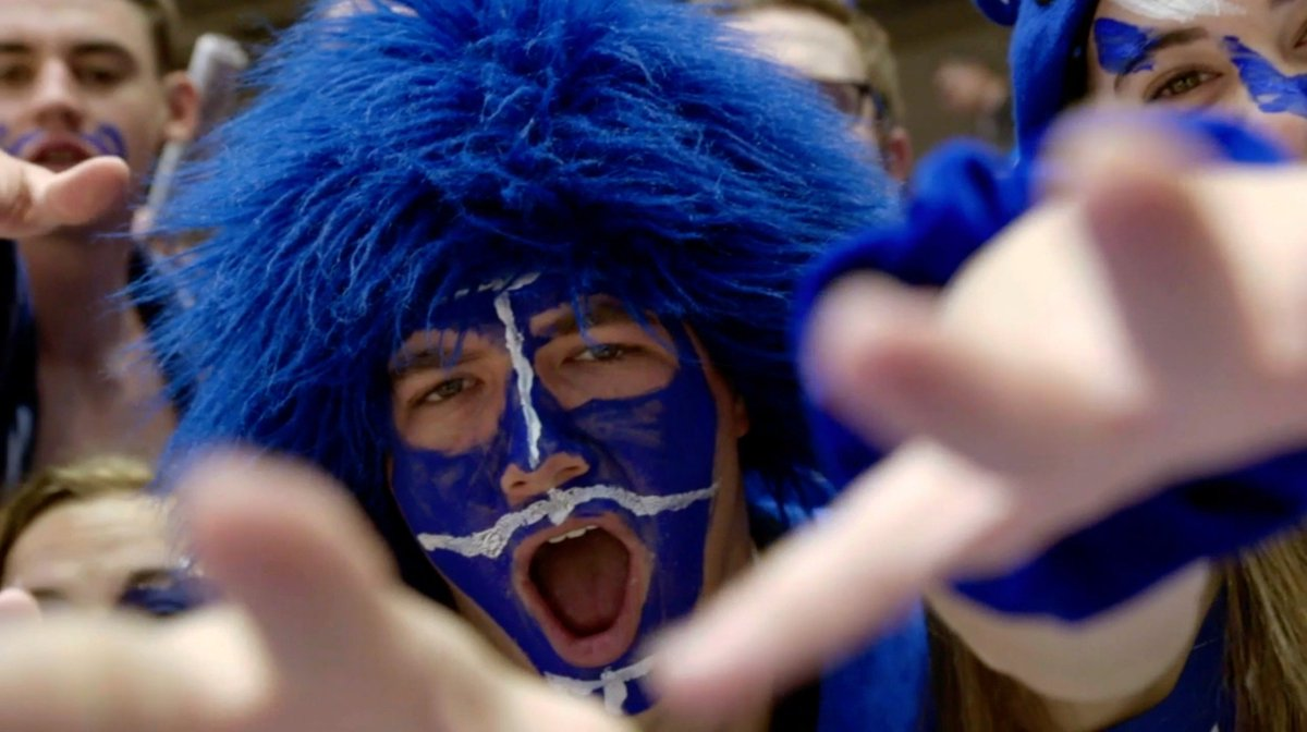 Time to get Crazie 🔵😈 ACC Traditions: @DukeATHLETICS premieres tonight at 9 PM ET on ACCN ⬇️