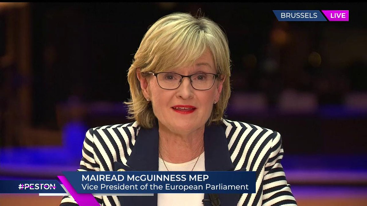 """.@MaireadMcGMEP says she thinks it is impossible for a Brexit Agreement to be """" done and dusted"""" by the 31st October. #Peston"""