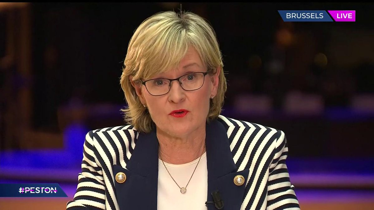 Vice President of the European @MaireadMcGMEP tells @itvpeston that if the legal text is not ready by 8am tomorrow, there will be no Brexit deal this weekend. #Peston