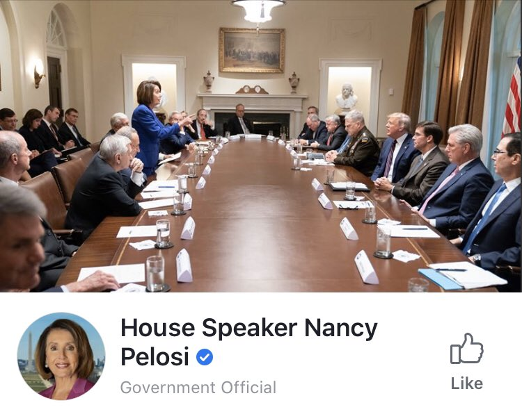 Pelosi Trump Had Meltdown During White House Meeting On