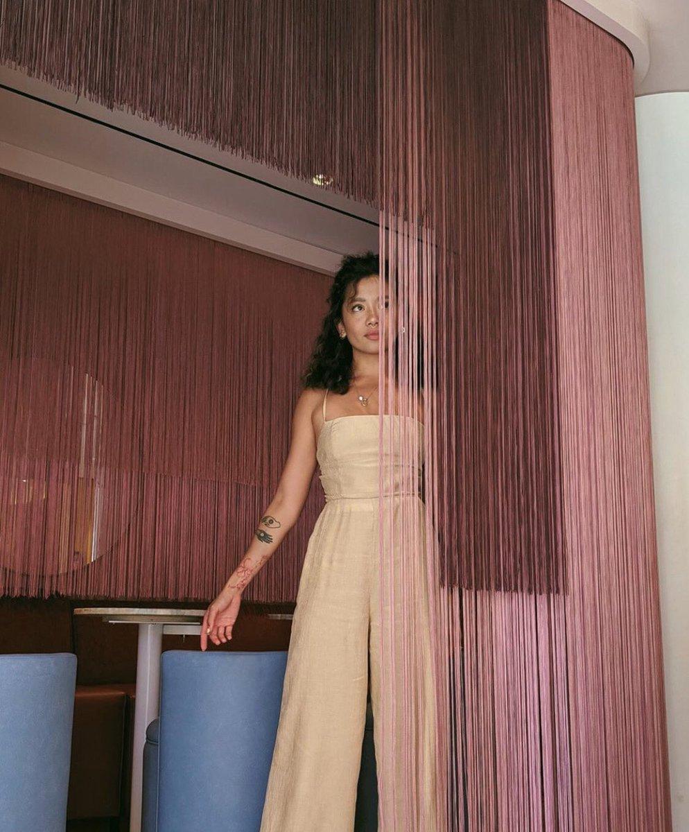 The Natalie Jumpsuit. ✨ On sale on @REVOLVE now. #hohxrevolve
