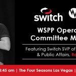 Image for the Tweet beginning: Switch SVP of Government &