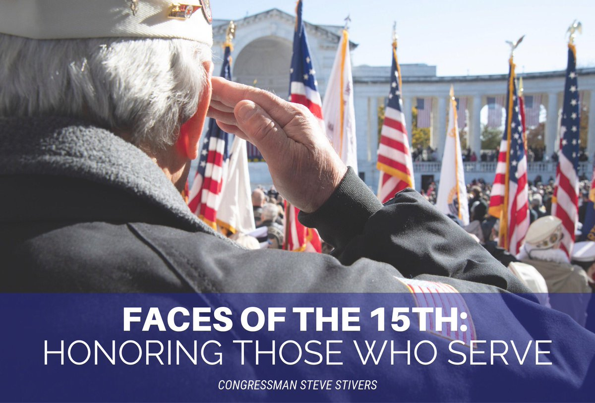 As we approach Veterans Day, we remember all of the tremendous sacrifices made by our men and women in uniform for this great nation. Is there an inspiring veteran in your life? I would love to hear their story. More here: bit.ly/2qcyQN5