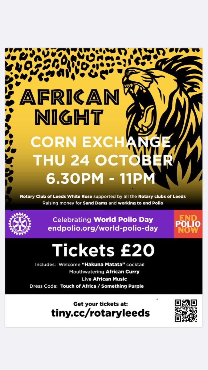 @AfricanLeeds looking forward to this event. Let's go there.