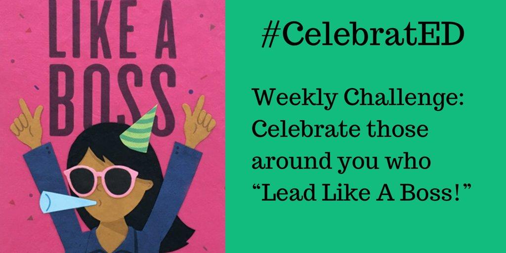 Weekly Challenge #CelebratED 🥳