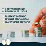 Image for the Tweet beginning: The AURICOIN cryptocurrency is created