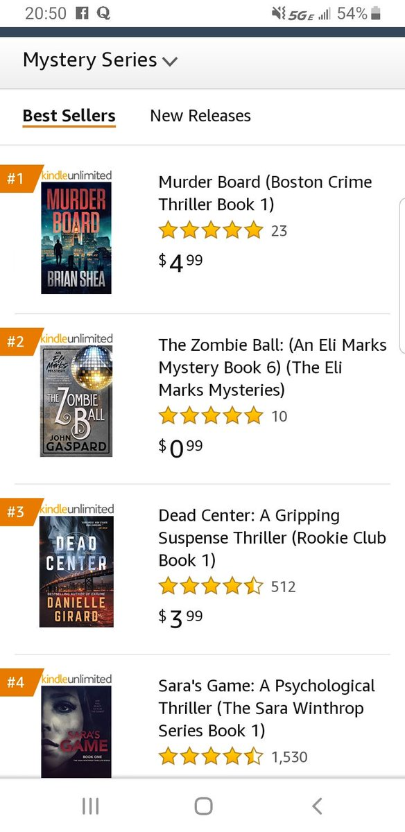 Very exciting...MURDER BOARD is currently the #1 bestseller in Mystery series on Amazon. #thriller #amwriting #bookbub #BookToMovie #KindleUnlimited #kindle #crimethriller #crimefiction <br>http://pic.twitter.com/nKFJCtpCui