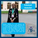 Image for the Tweet beginning: Meet Rukaiyah! A Law graduate