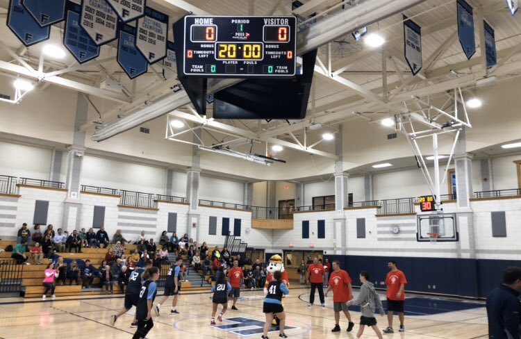 FHS Unified basketball challenge game a success