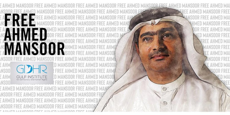 On Tuesday, human rights defender Ahmed Mansoor will spend his 50th birthday alone in a United Arab Emirates prison serving a ten-year sentence for standing up for the rights of his people. He should be freed. trib.al/E6E5Fjz