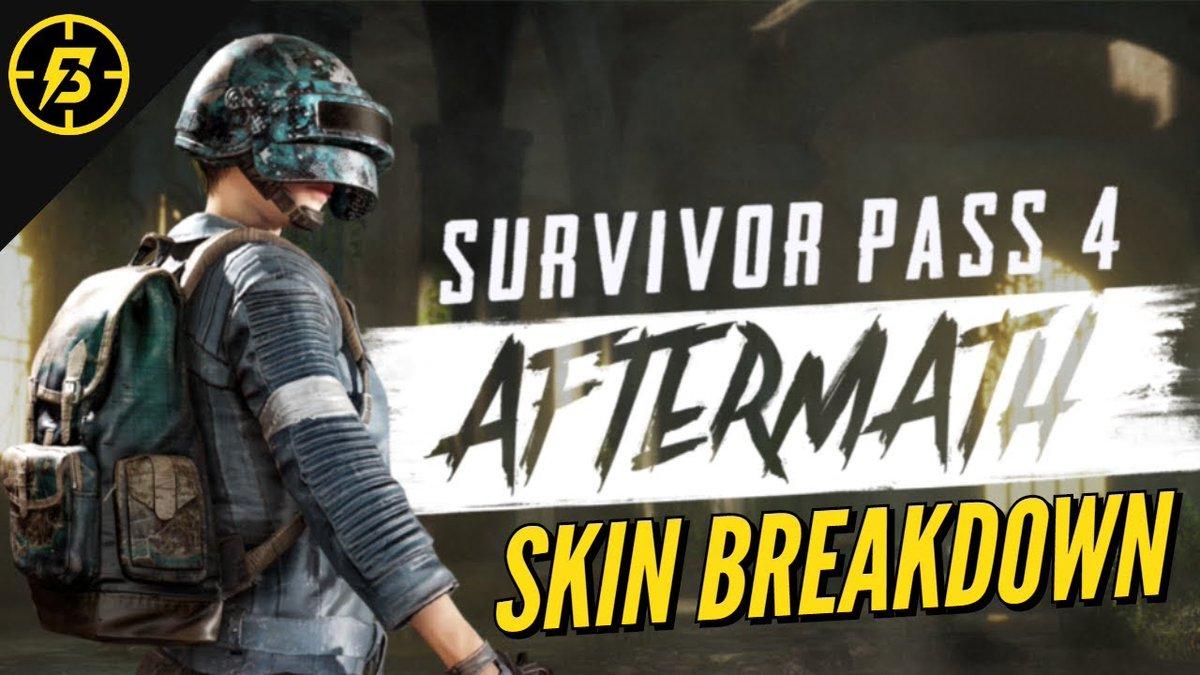 PUBG: Survivor Pass 4 Aftermath Overview (Skins & Challenges)  Link:  #battlestatskins #blitz5 #mk14skin #newcosmetics #newweaponskins #pubg4thseason #pubgaftermathchallenges #pubgaftermathskins #pubgnewskins #pubgseason4rewards #pubgseasonpass4