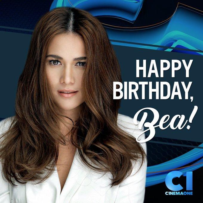 Happy birthday sa ating nag-iisang Basha, Bea Alonzo! From