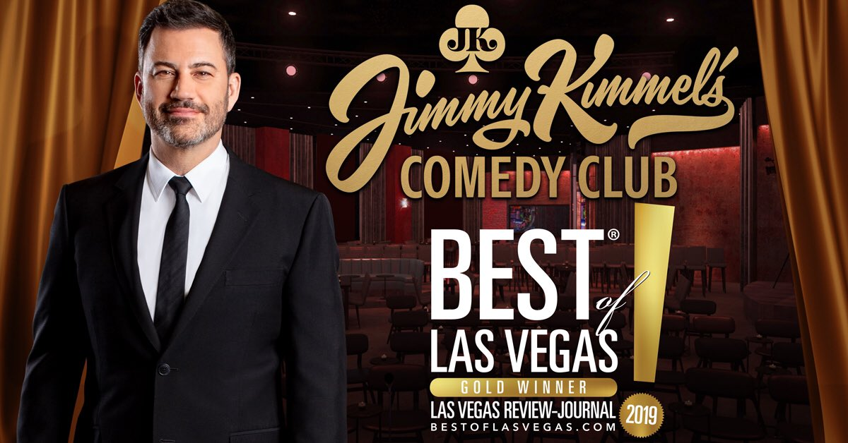Good times! Thanks to the @reviewjournal and everyone who voted #JKCC best of #LasVegas