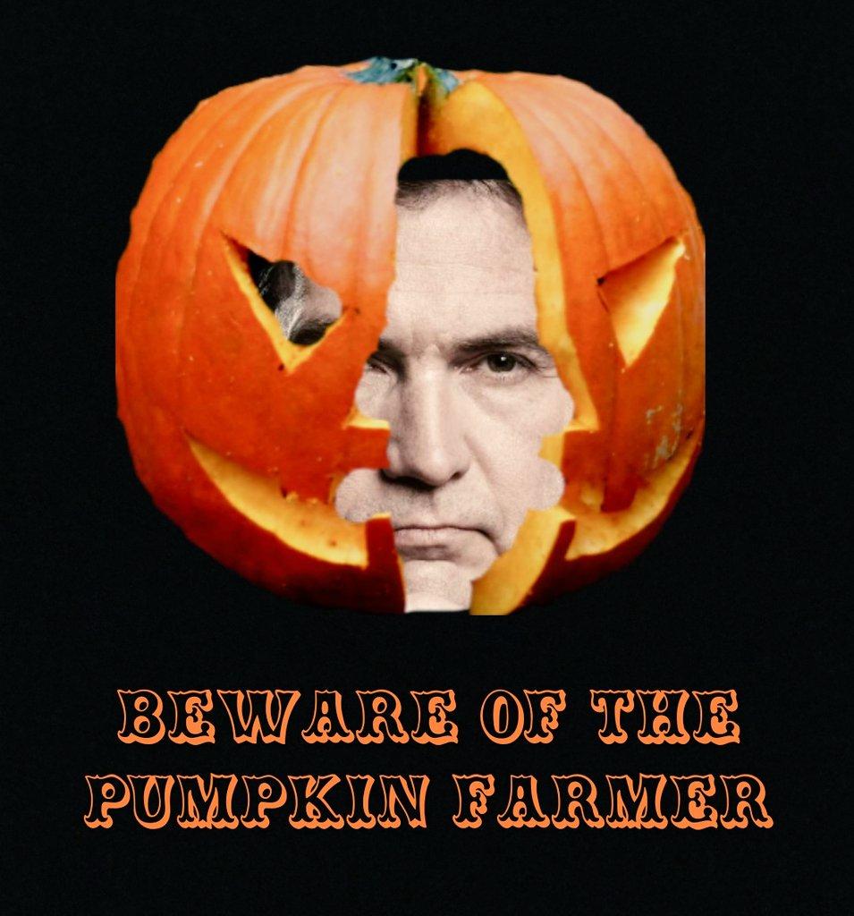 Craig Wright pumpkin farmer