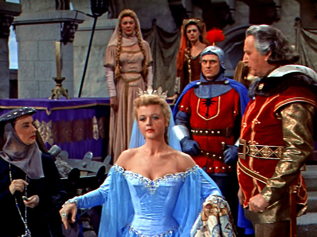 "Classic Movie Hub on Twitter: ""just because :) Angela Lansbury, The Court  Jester… """
