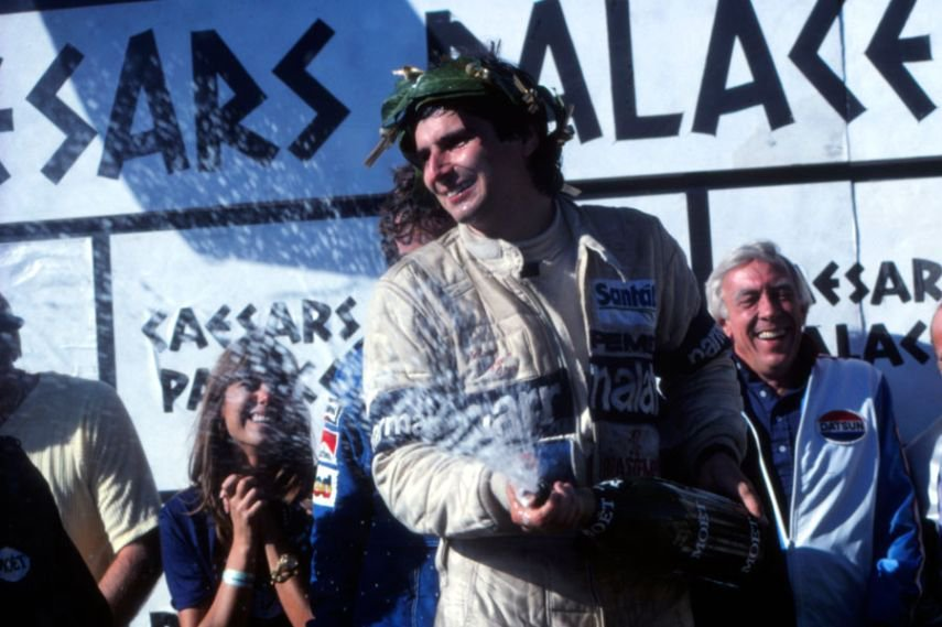 On this day in 1981, Nelson Piquet finished 5th and won the 1981 @F1 Championship at Caesars Palace #Formula1 #F1 #Champion
