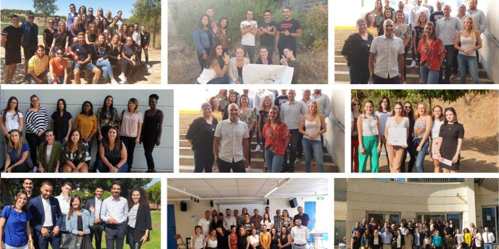 Les alternants @Formaposte Méditerranée font leurs rentrées ! 🎒 340 #apprentis en #alternance en régions #Sud et #Occitanie. Beaucoup de succès à tous dans leurs formations Livraison & Services, Banque & Commerce, Gestion & Management ! En savoir + 👉 https://t.co/yzoaNrSw60 https://t.co/QkASUizxqE