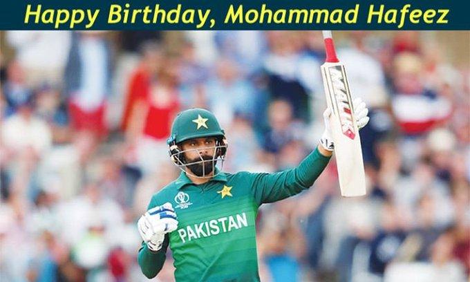 Happy Birthday, Mohammad Hafeez