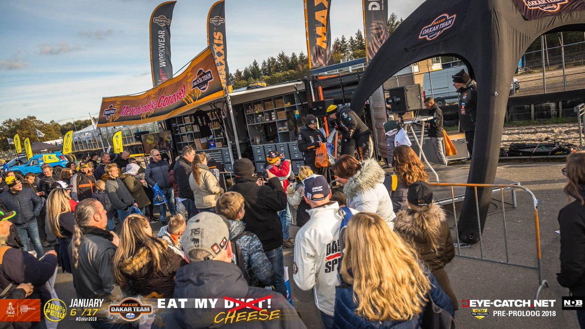 23 November is #preproloog #dakar2020 in Eersel! Perfect location to meet. For tickets see here  https://www. preproloog.nl/tickets/    <br>http://pic.twitter.com/BWu0iMFQke