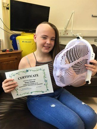 A special #ThankfulThursday shout out to Jessica for raising money for the Trust by cutting her hair off for @LPTrustUK 💙 She wanted to support the Trust after her cousin Grace pictured laughing below set sail on her first Trust trip this summer and ABSOLUTELY LOVED IT!