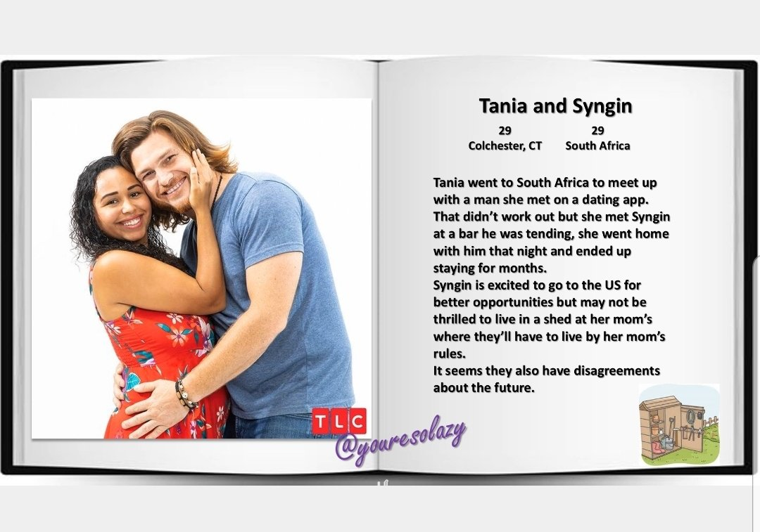 #90DayFiance Meet the cast: Tania and Syngin