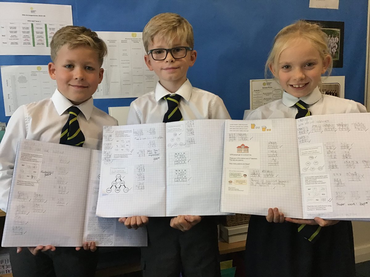 test Twitter Media - Well done to three amazing mathematicians from @GorseyY4 who solved a problem that left a few of us scratching our heads at first - their approach to trial and error (with plenty of resilience too) paid off in the end #gorseymaths #gorseypshe https://t.co/IYmtdcYASr